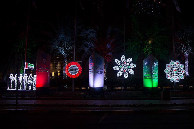National Day Light Decoration