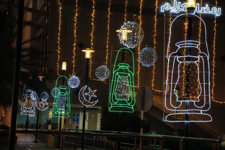 Ramadan Digital illumination for Shopping Mall